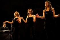 Happy Voices trio gospel féminin