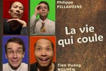 Affiche du spectacle. Conception : Philippe PILLAVOINE.