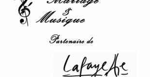 Mariage et Musique, partenaire des Galeries Lafayette