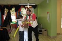 Spectacle de magie pour enfants avec sculpture sur ballons