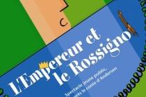 L'affiche du spectacle L'Empereur et le Rossignol