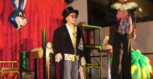 participation des enfants sur scène