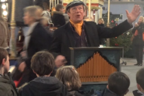 Orgue de barbarie à Noël