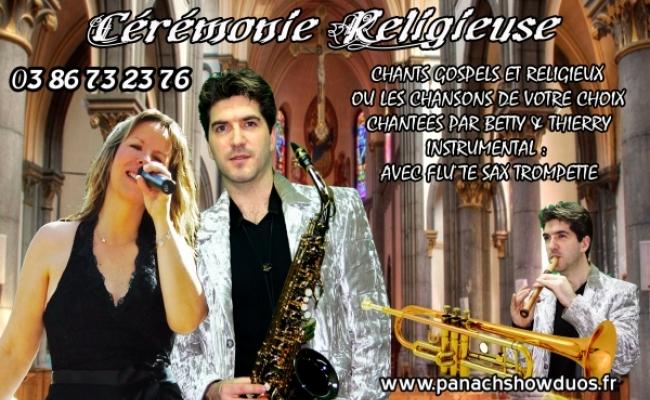 Cérémonie Religieuse - Gospel - Chant - Instrumental