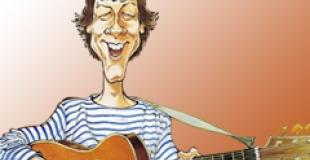 Bruno Coupé chansons et spectacles rock pour enfants