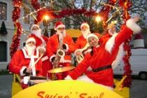 Papa Noel Band sur la swingomobile