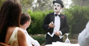close-up lors d'un mariage