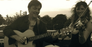 Swing sur la terrasse à Evian les Bains