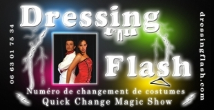 Les Dressing Flash : Quick Change Show !