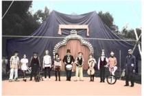 La troupe du Cirque Lontan