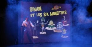 extrait du concert Simon et les six monstres