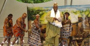 spectacle africain pour enfants