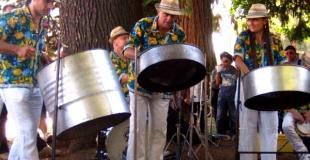 concert fixe à la fête du lac d' Annecy