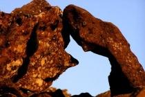 Parfois, les roches prennent de bien étranges formes...