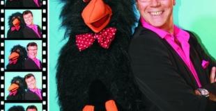 Guy Bertrand le plus comique des ventriloques