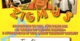 attractions <<Le cirque du clown Zigmus>>