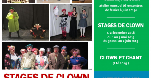 Programme Stages CLOWN 2018-2019