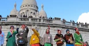 La Saint-Valentin à Montmartre - février 2012