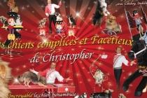 christopher et ses artiste canins