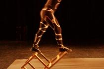acrobatie, chaise