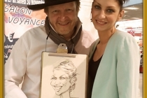 caricature caricaturiste animation mariage seminaire convention salon