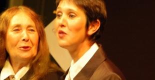 Agnès Chavanon et Chloé Gabrielli