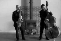 Duo de jazz pour cocktail
