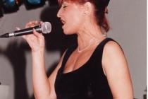 Isa sur scène
