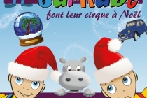 LEON & BARNABE FONT LEUR CIRQUE A NOEL