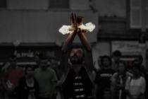 jongleur de feu - cracheur de feu - spectacle de feu