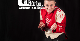 Elbarbo sculpteur sur ballons