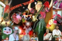 Groupe musical RUSSIA - Affiche