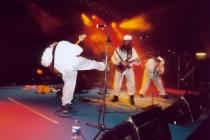 1ère partie de SKA-P (juillet 2003) à Auxerre