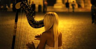 Harpiste pour soirée privée et concert : conseils et devis