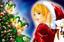 Flamèche et la légende du Père-Noël
