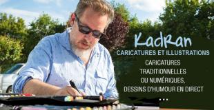 Kadran, caricatures et illustrations