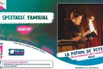Spectacle La Potion de Petram à Angles (85) le 11 août 2020