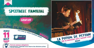Spectacle La Potion de Petram à Angles (85) le 11 août 2020