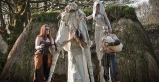 Orin, déambulation celte