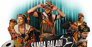 Batucada fanfare lumineuse Samba Baladi