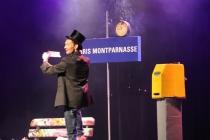 Numéro de gala - artiste magicien