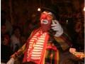 arrivée du Clown-magicien