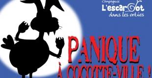Panique à Cocotte-Ville ! - Affiche