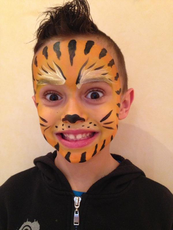 Bien-aimé Maquillage enfant - Maquillage artistique pour enfants par Axé Cirque NA82