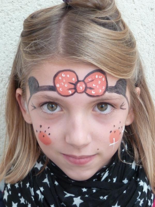 Maquillage enfant - Maquillage artistique pour enfants par Axé Cirque