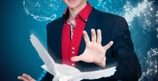 Affiche du spectacle de magie