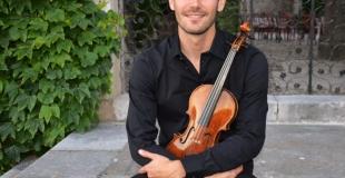 Didier au violon