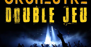 Affiche orchestre double jeu variete pop-rock