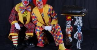 Les clowns Mario et Charly's