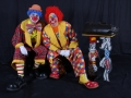 Les clowns Mario et Charly's